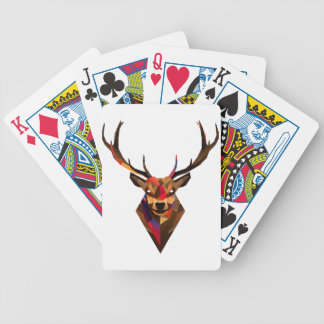 Geoetric Dear Bicycle Playing Cards