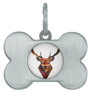Geoetric Dear Pet Tag