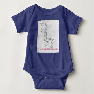 Geoffery The Giraffe Baby Bodysuit