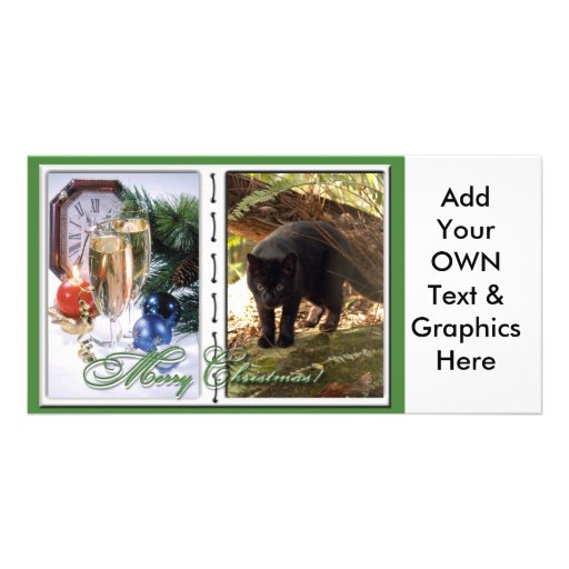 Geoffroy Cat-c-50 copy Personalized Photo Card