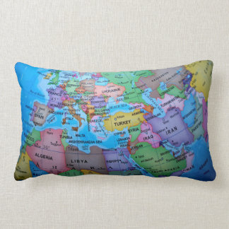 Geographical Lumbar Pillow