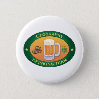 Geography Drinking Team 2 Inch Round Button
