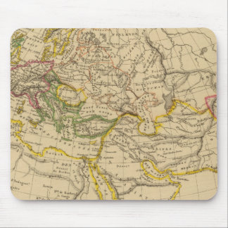 Geography of the Middle Ages Mouse Pad