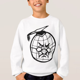 Geography Teacher, globe earth world professor Sweatshirt