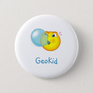 GeoKid Bubblegum Geocaching Swag Pin
