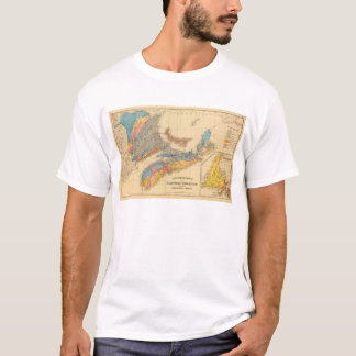 Geological map, Maritime Provinces T-Shirt