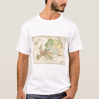 Geological Map of Europe T-Shirt