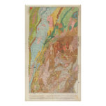 Geological Map of New Hampshire Poster