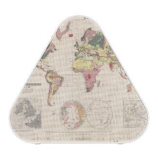 Geological structure of globe speaker