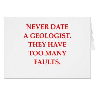 GEOLOGIST CARD