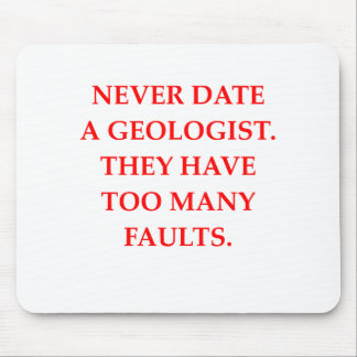 GEOLOGIST MOUSE PAD