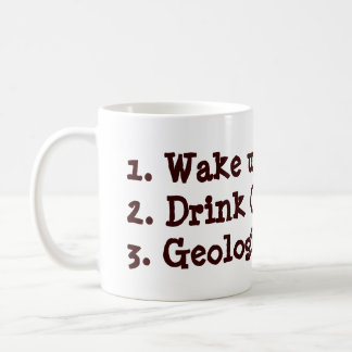 Geologist To-Do List Mug