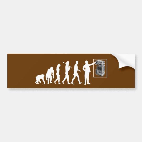 Geologists Geology Evolution Rockhound Geological Bumper Sticker