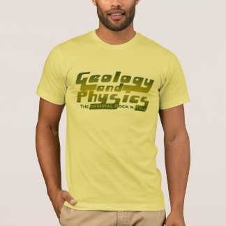 Geology and Physics gênios T-Shirt