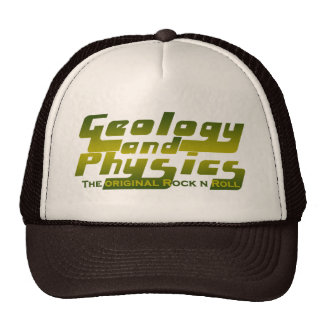 Geology and Physics Mesh Hats