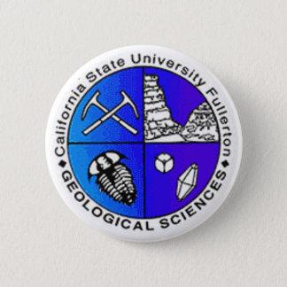 Geology Department Logo 2 Inch Round Button