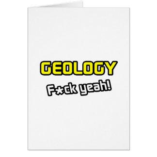 Geology ... F-ck Yeah! Card