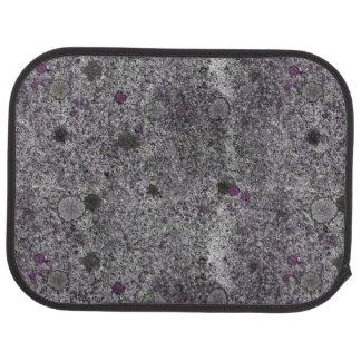 Geology Grey Granite Rock with Pink Details Car Carpet