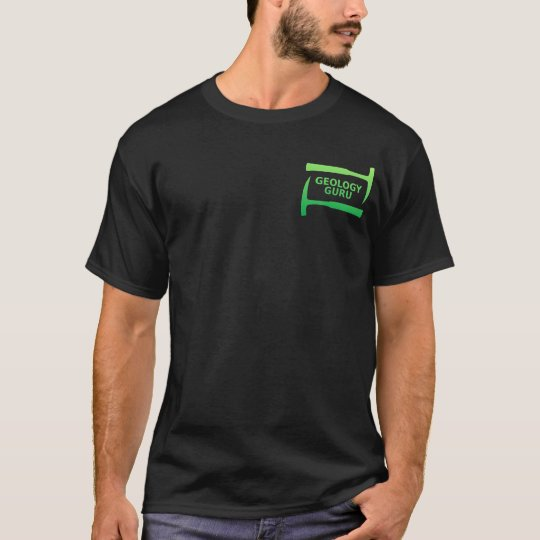 Geology Guru T-Shirt (green)