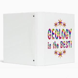 Geology is the Best 3 Ring Binders