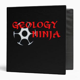 Geology Ninja Binder