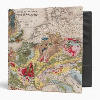 Geology of Europe Vinyl Binders