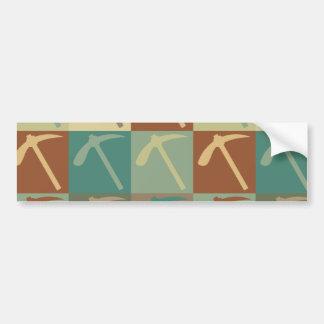Geology Pop Art Bumper Sticker
