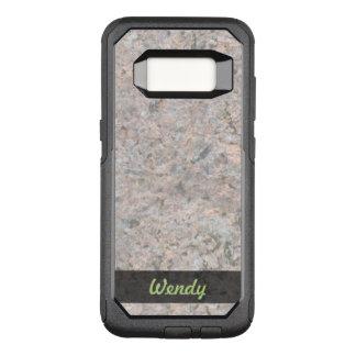 Geology Rock Texture Photo OtterBox Commuter Samsung Galaxy S8 Case