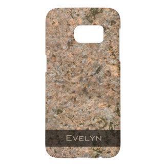 Geology Rock Texture Photo Samsung Galaxy S7 Case