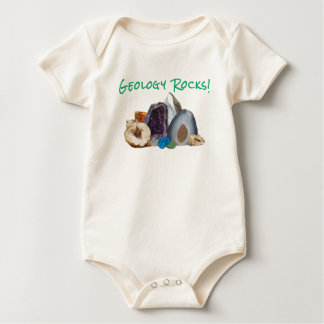 Geology Rocks! Baby Jumper Baby Bodysuit