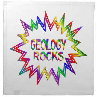 Geology Rocks Napkin