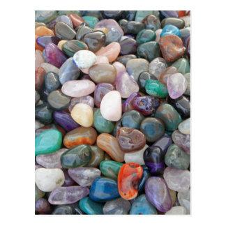 Geology Rocks! (Pile of lovely rocks) Post Card