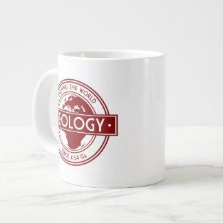 Geology- Shaping the World Logo (Europe) Jumbo Mug