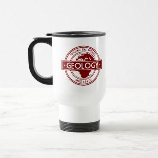 Geology- Shaping the World Logo (Europe) Travel Mug