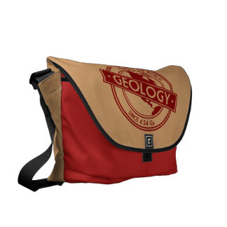 Geology- Shaping the World Logo (North America) Messenger Bag