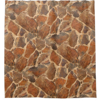 Geology Stone Wall Structure Golden Orange