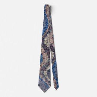 Geology Tie - Blue