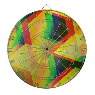 Geometric 06 yellow dart boards