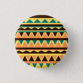 Geometric 1 Inch Round Button