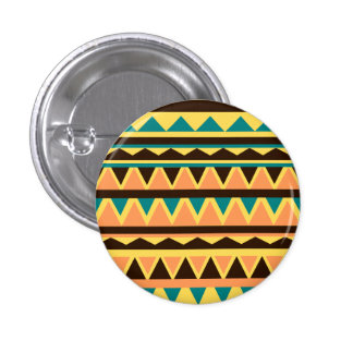 Geometric 1 Inch Round Button