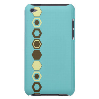 Geometric Abstract Art Design Barely There iPod Case