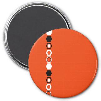 Geometric Abstract Art Design Fridge Magnet