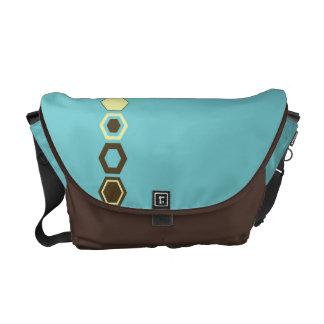 Geometric Abstract Art Design Messenger Bags