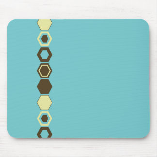 Geometric Abstract Art Design Mouse Pad