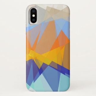 Geometric Abstract Art iPhone X Case