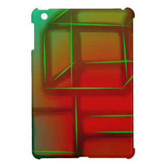 Geometric Abstract Digital Art iPad Mini Case