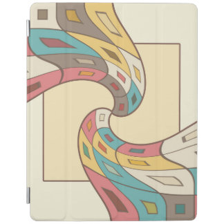 Geometric abstract iPad cover