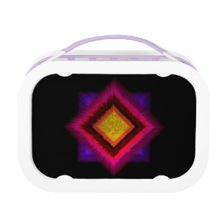 Geometric abstract. lunch box