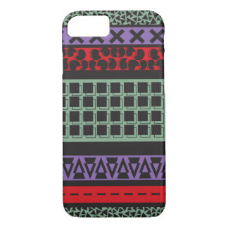 geometric abstract pattern iPhone 7 case