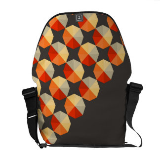 Geometric, Abstract Pattern Messenger Bag